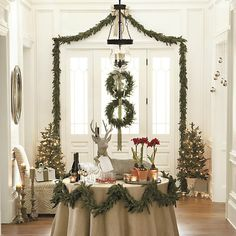 Angel Pine Garland πορτες, γυψινα