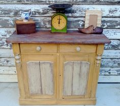 rustic farmhouse kitchen sideboard dresser chalk paint