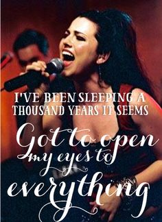 Bring Me to Life - Evanescence #lyrics by EDV