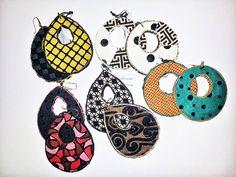 Abbiamo scelto le stoffe, i colori e gli abbinamenti...ogni orecchino è unico. Li ha creati per noi la designer C. Del Bello. A breve in vendita nel nostro e-store.  #bluepointfirenze #bpf #italianissimi #jewels #fashionissimi #handmade #gioielloitaliano #notedistile #orecchini