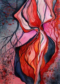 Zuzana Mezencevova  zzen: watercolour, aquarelle, paintings