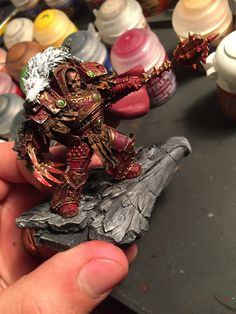 Horus of Khorne completed! Image and model by Greylith. Posted on r/warhammer.