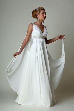Greek Roman Inspired Wedding Dresses