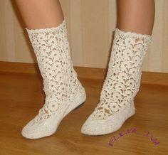 Uncinetto d'oro: Stivali all'uncinetto per estate!!!