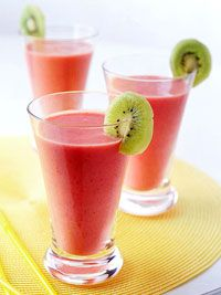 Strawberry-Banana Smoothies Recipe