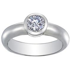 Round Bezel Ring from Brilliant Earth