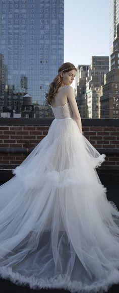 Wedding Dress by Adam Zohar 2017 Bridal Collection