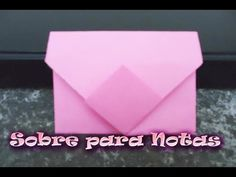 Tutorial Origami Love Letter