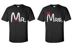 Mr. & Mrs. Couple Shirts . (Customized)