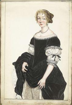 Portret van Aletta Pancras, Gesina ter Borch, Gerard ter Borch (II), c. 1670