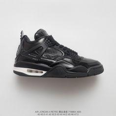 premium selection 202a7 6e368 Fsr Mens Jordan 4 Air Jordan 4 11lab4 Aj4 Black Patent Leather Basket  Sneaker