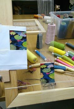 Selvedge Workshop: Tapestry weaving with Fiona Rutherford, £120
