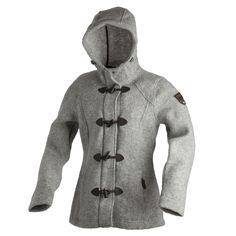 WOMAN FIX HOOD JACKET,     Jacken, die den Winter erst vollenden...