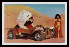 """Mummy Machine"" Show Car, 1976 by Cosmo Lutz, via Flickr"