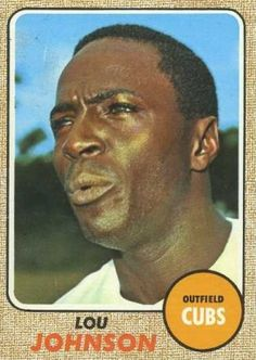 184 Lou Johnson 1968 Topps