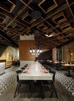 Maredo's flagship restaurant in Berlin, Berlin. A project by Ippolito Fleitz Group – Identity Architects, Storytelling.