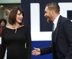 Tom Hardy and Charlotte Riley at the UK premiere of Legend - Sep. 3rd 2015