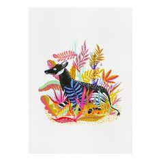 Okapi Print #print #okapi #llewmejia