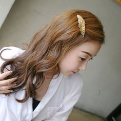 Feather Hairpin Retro Styling