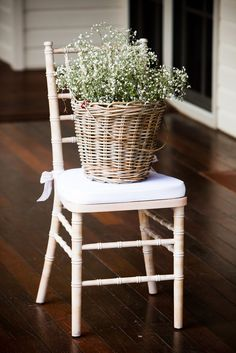 In baskets!! Probably way cheaper and easier to find than crates. Maybe a mix of the two?