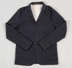 UNIVERSAL WORKS: Drayton Jacket, Seri Pinstripe