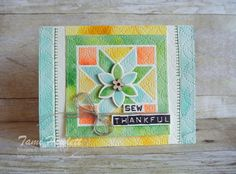 Watercolor Quilt - #GDP102   Swimming In Stamps #GDPwinner