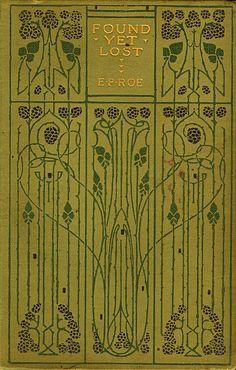 Art Nouveau Book Cover