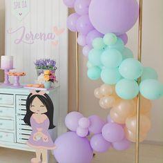 Baby First Birthday, Diy Birthday, Unicorn Birthday, First Birthday Parties, First Birthday Balloons, 1st Birthday Girl Decorations, Balloon Decorations Party, Baby Shower Decorations, Donut Party