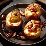 Gebakken appels met cheesecake en karamelsaus - Vereniging van Keurslagers