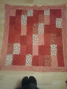 Blocks baby quilt
