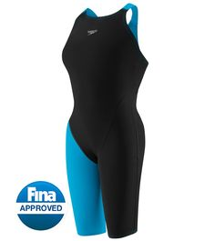 Speedo LZR Racer Pro Recordbreaker Kneeskin Tech Suit Swimsuit with Comfortstrap at SwimOutlet.com - Free Shipping