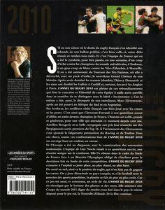 L'Année du Rugby - 2010 - Verso