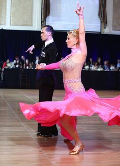 The American style Tango is danced by Charlene Proctor and Michael Choi at the New York Dance Festival 2015.  https://www.facebook.com/photo.php?fbid=10153066766044424