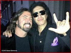 Dave and Gene Simmons