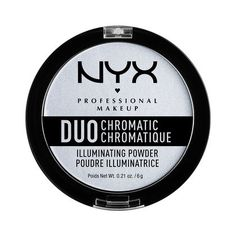 Duo Chromatic Illuminating Powder NYX 280kč (snow rose)
