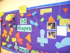 3D Shapes and Nets | Teaching Photos