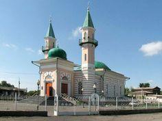 A small mosque in Semey,Kazakhstan