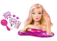 Discover the best selection of Barbie items at the official Barbie website. Shop for the latest Barbie toys, dolls, playsets, accessories and more today! Mattel Barbie, Gifts For Girls, Girl Gifts, Colored Hair Gel, Barbie Styling Head, Barbie Makeup, Mannequin Heads, Nail Stickers, Doll Accessories