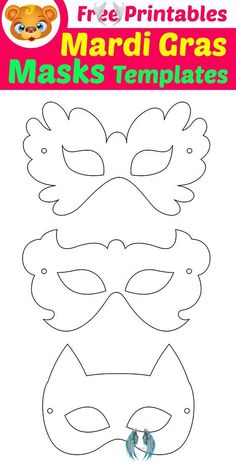 Free Printable Masquerade Masks Template | 123 Kids Fun Apps  <br> Free Printable Masquerade Masks Template for Kids. Mardi Gras Masks with Free Printable. Free Learning Games for Kids – Homeschooling & Learning & Free Activities for Kids. FREE Preschool learning games – Bee Educational games for kids 4+ FREE Tashi Coloring Games for Kids Coloring Pages for Kids FREE… Mardi Gras Mask Template, Superhero Mask Template, Masquerade Mask Template, Masquerade Masks, Mardi Gras Masks, Masquerade Party, Printable Halloween Masks, Printable Animal Masks, Animal Mask Templates
