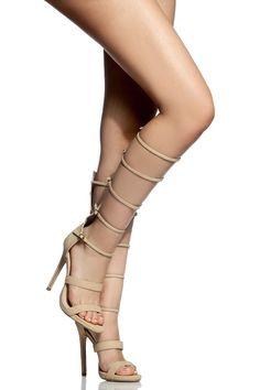 Women's Fashion High Heels :    Beige Faux Leather Strappy Gladiator Heels @ Cicihot Heel Shoes online store sales:Stiletto Heel Shoes,High Heel Pumps,Womens High Heel Shoes,Prom Shoes,Summer Shoes,Spring Shoes,Spool Heel,Womens Dress Shoes  - #HighHeels https://youfashion.net/shoes/high-heels/trendy-womens-high-heels-beige-faux-leather-strappy-gladiator-heels-cicihot-heel-shoes-online-store-sal/