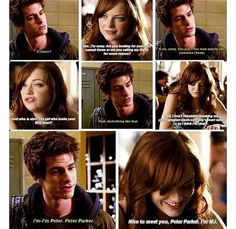 THIS SERIOUSLY NEEDS TO HAPPEN IN THE AMAZING SPIDER-MAN 3! DON'T GET RID OF EMMA STONE PLEASEE!!!!