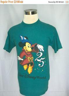 SALE 30% Walt Disney Mickey Mouse  Men Shirt Medium Disney Mickey Mouse Minie Mouse Mens Mickey Mouse Tokyo Disney T Shirt Men's Size M by MudeanDean
