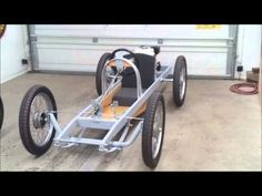 ▶ Cyclekart (Monocar) chassis complete video of details - YouTube
