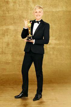 The Host For The 86th Academy Awards ~ Ellen DeGeneres ~ 2014