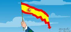 Espanha: Mariano Rajoy, um valor em queda   VoxEurop.eu: atualidade europeia, ilustrações e revistas de imprensa