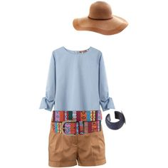 hat, created by sylvia-martinez on Polyvore