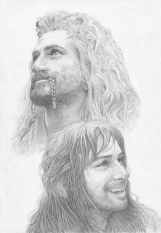 sigun-i-loki:  Kili  and Fili by Shishkina