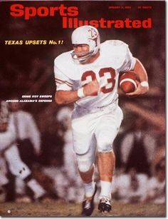 buy Ernie Koy of The Longhorns Sports Illustrated cover reprints College Football Players, Alabama Football, Superstar Football, Football Art, Vintage Football, Pittsburgh Steelers, American Football, Football Helmets, Sports Magazine Covers