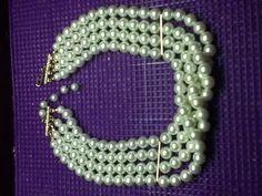 Pearl Choker Necklace Cream White Faux Bridal Wedding XMAS CHRISTMAS Jewelry Women Teen Tween Dressy Work School on Etsy, $19.00