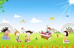 Kindergarten poster background material daquan Kindergarten Posters, Kindergarten Pictures, Shapes Worksheet Kindergarten, Free Background Photos, Kids Background, Teacher Cartoon, Cartoon Kids, Dad Drawing, Foto Frame